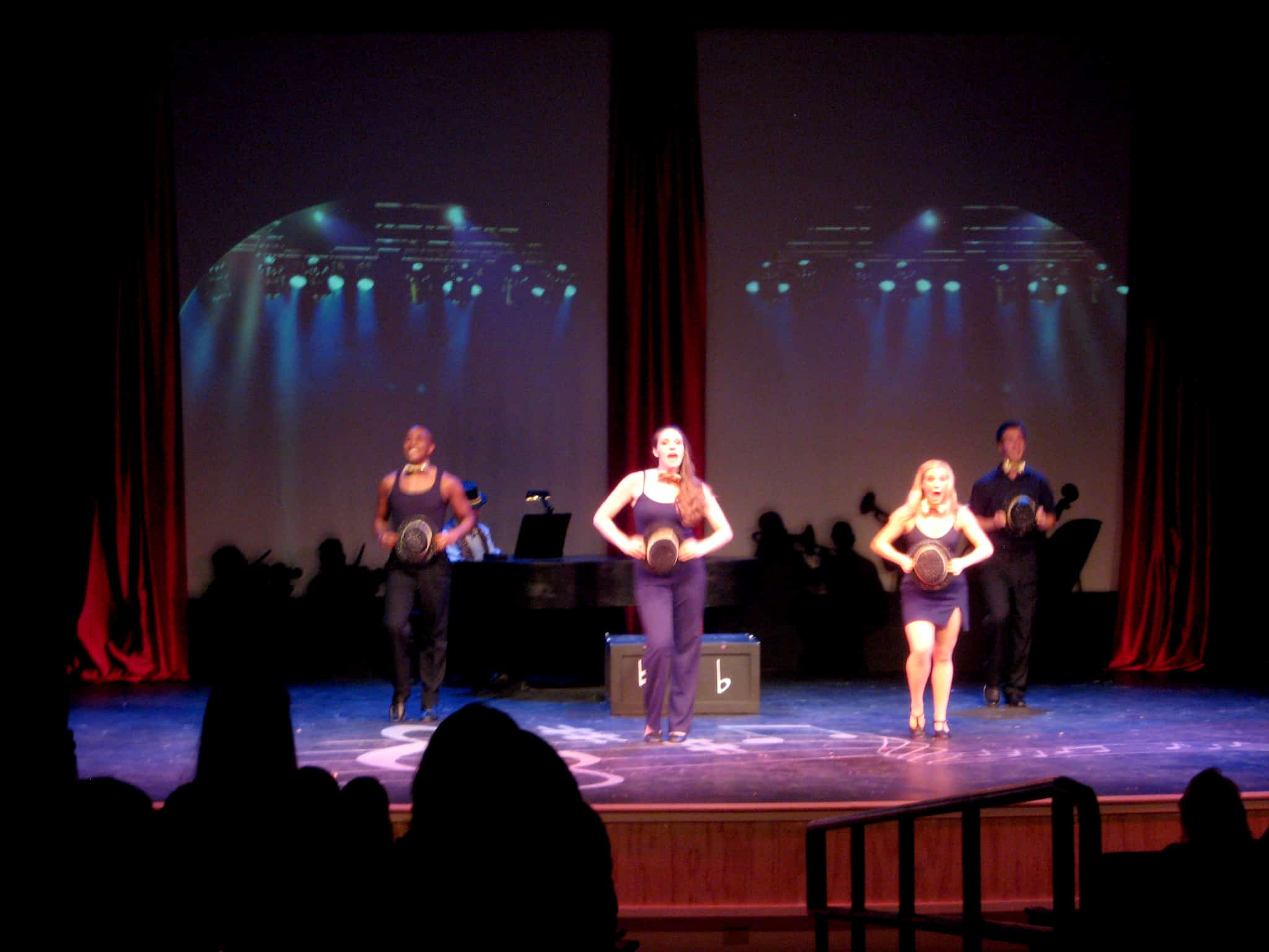 Musical of Musicals Set Design and Projections