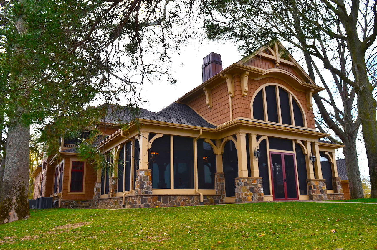 Beautiful 7000 sf home with 2 acres on Lake Wawasee | Scheerer ...