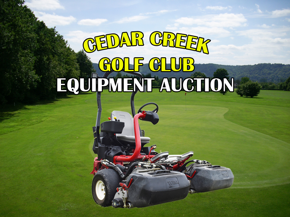 Cedar Creek Golf Course Closing - Opportunity to Own Well-Maintained on golf cart with lift, golf cart with air conditioning, golf cart with bar,