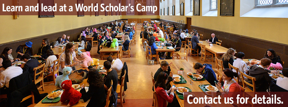 Learn and lead at a World Scholar's Camp near you