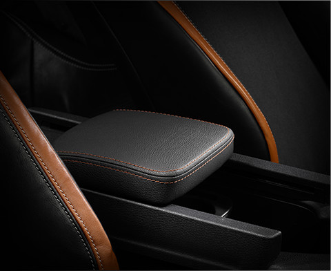Centre Armrest with Accent Stitching