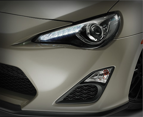 HID Headlamps with LED Daytime Running Lights