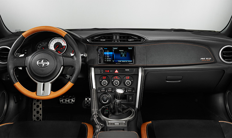 Scion FR-S RS 2.0 - Dual Zone Climate Control