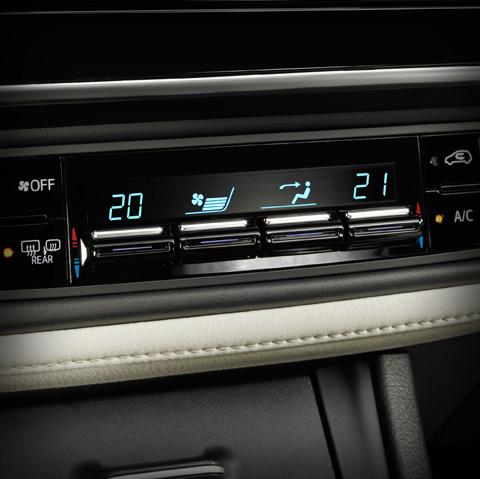 Contrôle automatique de la température à deux zones