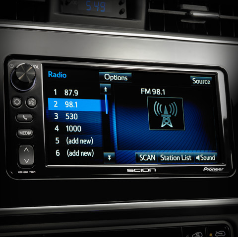 Pioneer® Display Audio with 7-inch Touchscreen