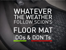 FLOOR MATS DOs and DON'Ts