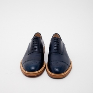 Scissors - Band of Outsiders - Classic Shoes Blue Navy | Très Bien Shop