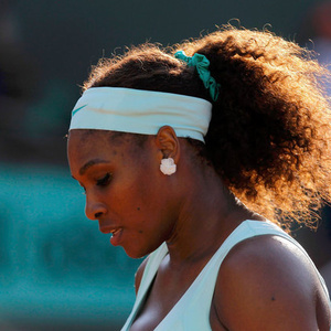 Foraging - Serena Williams Loses in First Round - NYTimes.com