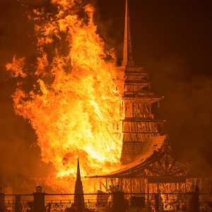 Foraging - All sizes | Burning Man 2012 Temple of Juno Burn | Flickr - Photo Sharing!