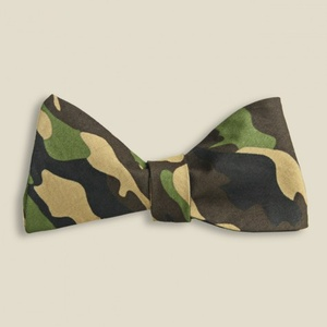 Cache Money - STAG - Ivy Prepster - Dartmouth Camo Bow Tie - Ivy - TIES