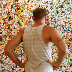 Foraging - Dan Colen's Journey to a Gagosian Gallery Show - NYTimes.com
