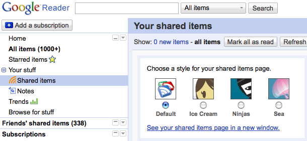 google-reader-shared-items