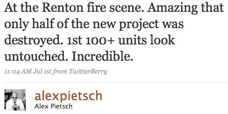 Renton Fire 1