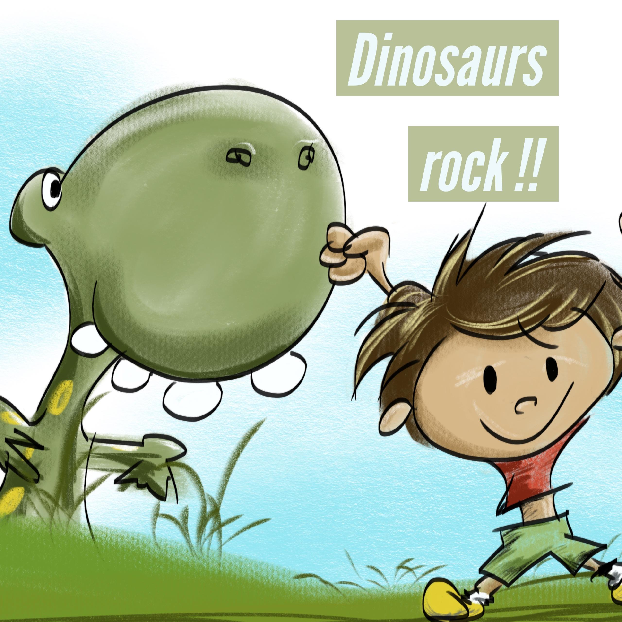 Dinosaurs Rock !