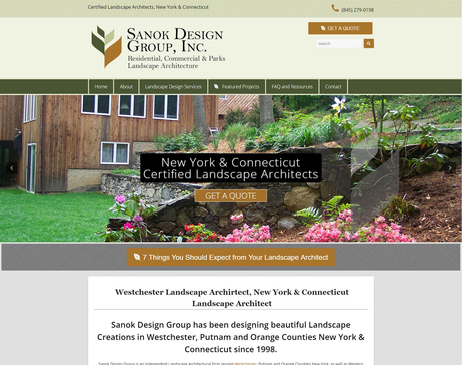 Westchester Landscape Architecture Firm