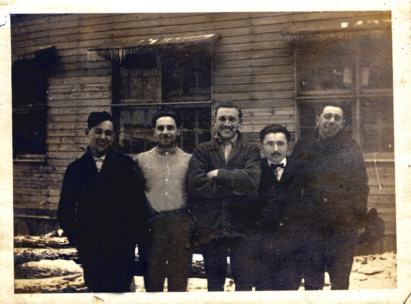 Photograph: group photo at Camp Meade (2)
