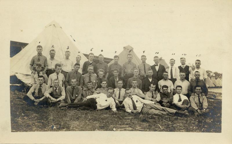 Photograph: Camp Dix C.O.s