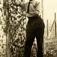 Photograph: Caplovitz by a vine