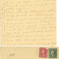 Letter July 7, 1918 from Ruth to Lawrence Williamson