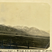 Photograph: View from C.O. Barracks