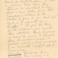 Letter from Joseph Dalby