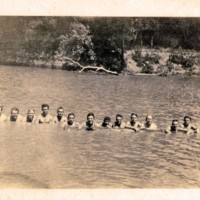 Photograph: C.O.s Swimming