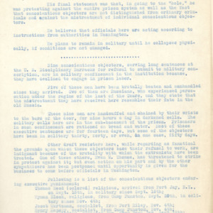 Bulletin notes, November 1, 1918