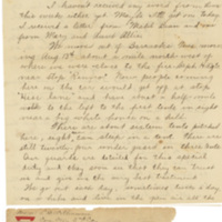 Letter August 18, 1918 from Lawrence Williamson to his parents