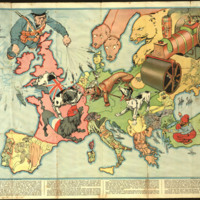 Hark, hark the dogs do bark! (Map of Europe)