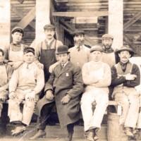 Photograph: Men in Overalls