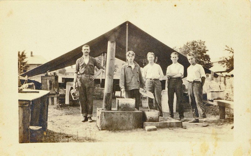 Photograph: Making Meal Outdoors