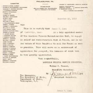 LetterFromAFSCToSirDecember10th1918.jpg