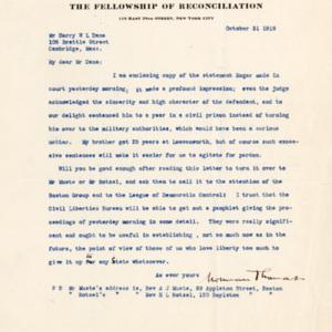 LetterFromNormanThomasToHarryDanaOctober31st1918.jpg