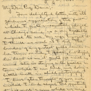 Letter July 25, 1918 from Robert Whitaker to Henry Dana