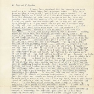 """Letter """"At The Front"""", December 22, 1914"""