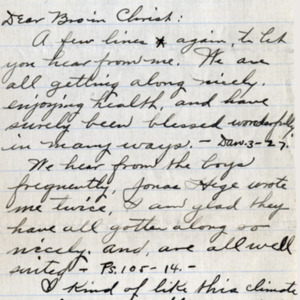 Letter August 22, 1918 from M.K. Lederach to I.B. Good