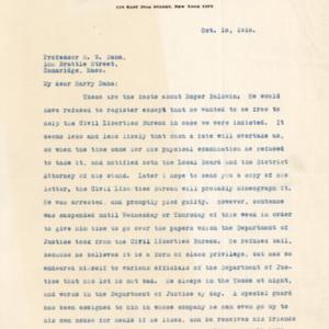 LetterFromNormanThomasToDanaOctober15th1918page1.jpg