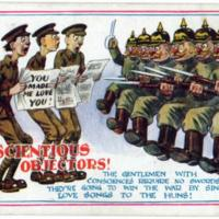 Cartoon Conscientious Objectors 2