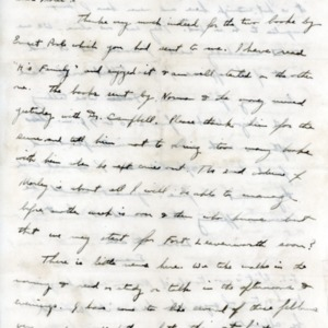 Letter June 3, 1918 from Evan Thomas to Violet Thomas