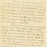 Letter March 26, 1919 from J. Brandon to David Eichel