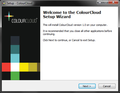 Install ColourCloud