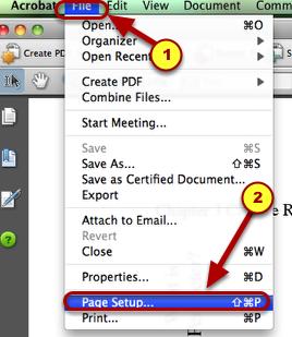 1. Go to File--> Page Setup