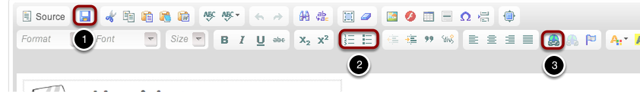 This is the top editing bar. The most important editing tools are highlighted.