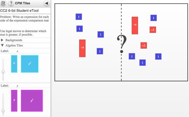 Screen shot of 6-5d Student eTool