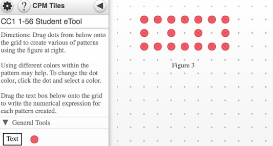 Use the tools to show various numerical ways to show the figure below. Drag the Text box to label each one.