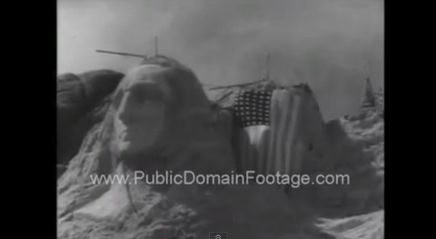 This video shows historical footage.