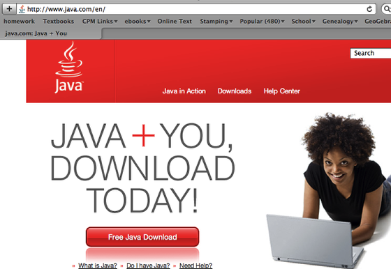 3a. If you have a PC, you may not have Java on your machine.  Go to java.com to download.