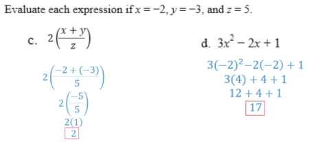 Algebra Tiles: Evaluating Expressions Part 3:
