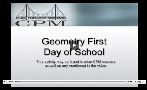 This video offers suggestions for class activities for the first day of school.
