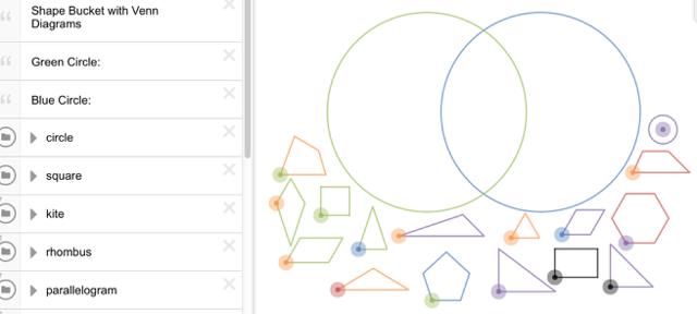 Create your own Venn Diagrams.